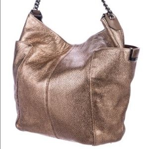 Jimmy Choo Bags - Rare Metallic Bronze Jimmy Choo Anna Bag